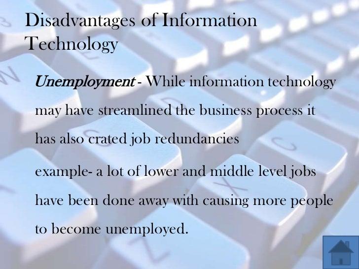 disadvantages of modern technology Home list of pros and cons 10 top advantages and disadvantages of technology in education 10 top advantages and disadvantages of technology and disadvantages.