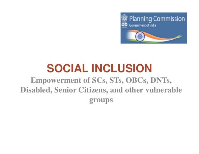 social empowerment in india pdf