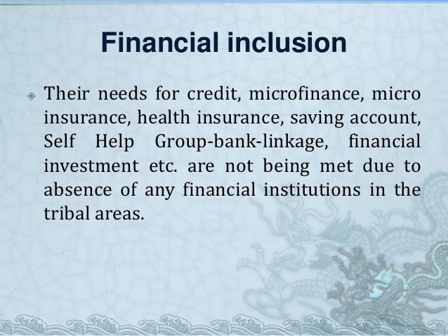 financial inclusion through microfinance health insurance in Deepening insurance penetration through financial inclusion  the emerging challenges of financial inclusion and micro-insurance hence, this therefore calls for more dynamic strategies to.