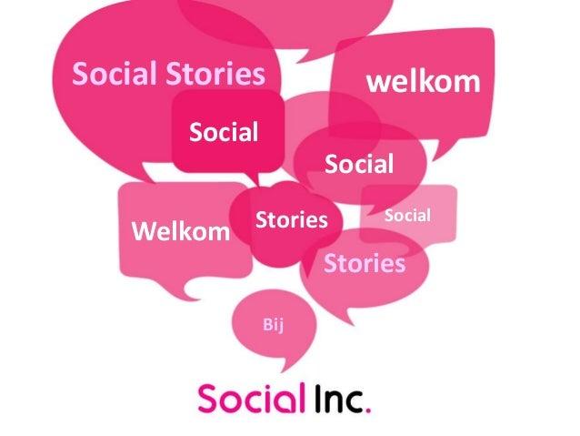 Social Stories welkomSocialWelkom StoriesSocialSocialStoriesBij