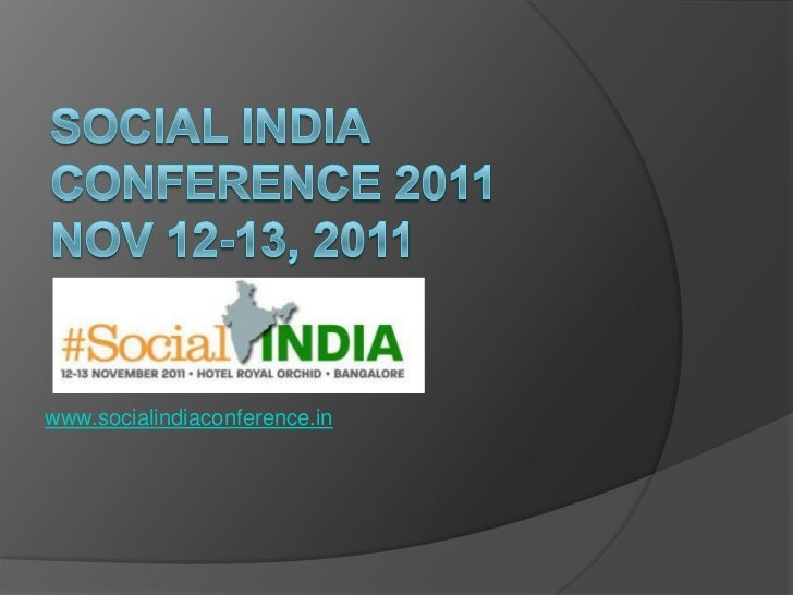 www.socialindiaconference.in