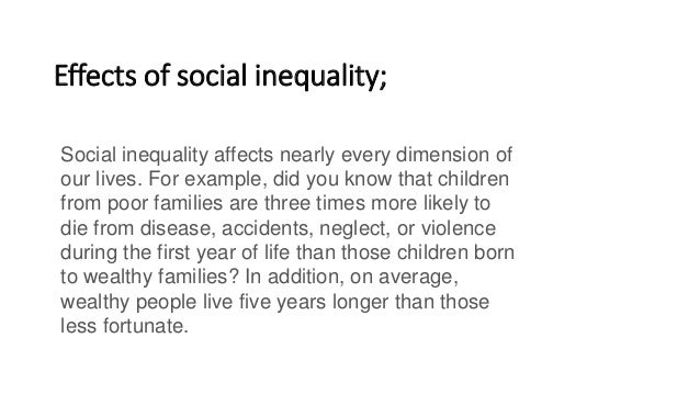 how to solve social inequality