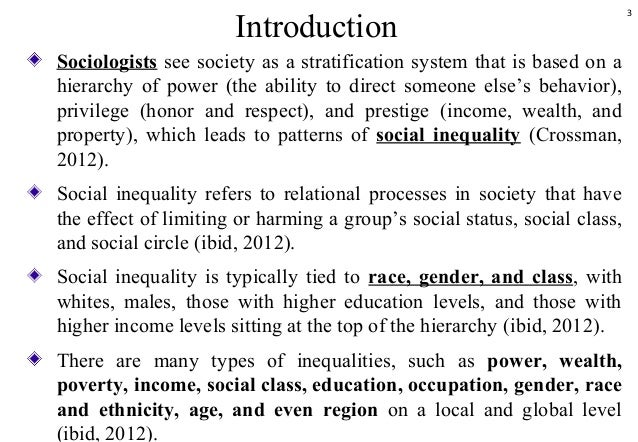 4 soc inequality past mini questions Questions on the introductory sociology exam require test takers to demonstrate one or more of the following abilities some questions may require more than one of.