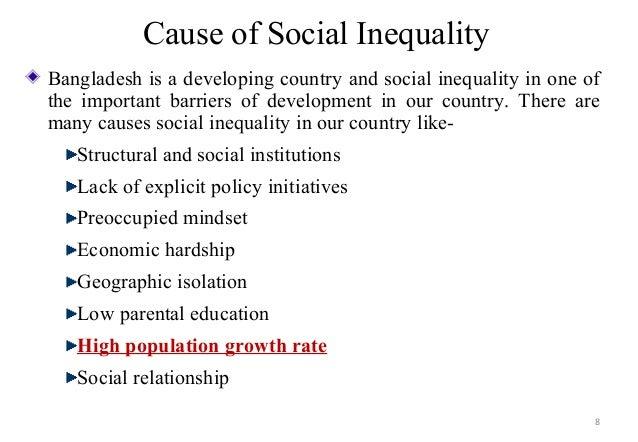 Social inequality in bangladesh
