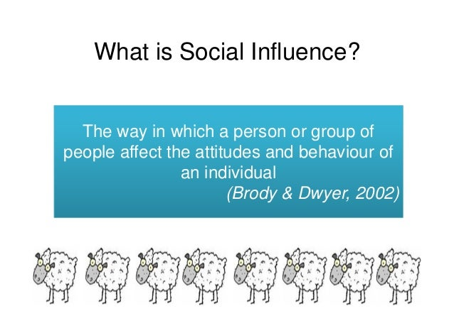 effects of social groups on personality