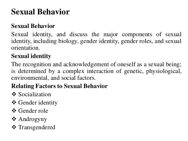 societys influence on sex and sexuality