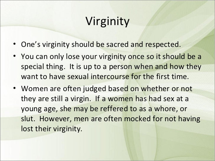 Loosing virginity at a young age — pic 1