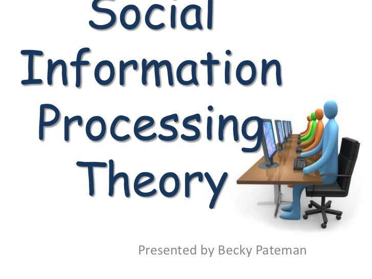 social information processing theory