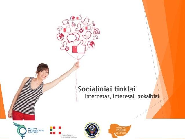 Socialinių tinklų panaudojimas NVO sektoriuje Slide 3