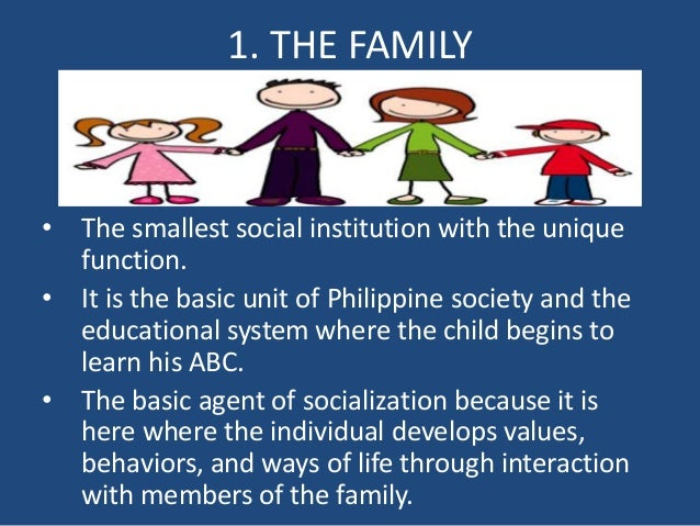 family as an agency in socialisation Second language socialization and learner second language socialization and learner agency by focusing on a different practice in each family.