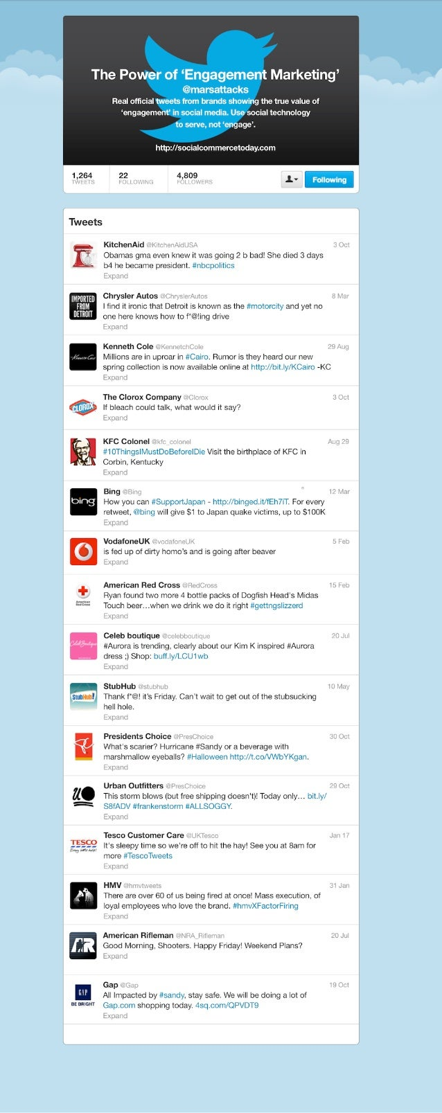 Collaborative IQ with Denise Holt - INFOGRAPHIC – Brand Twitter Fails