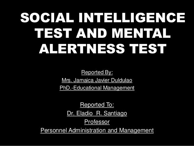 Reported By: Mrs. Jamaica Javier Duldulao PhD.-Educational Management Reported To: Dr. Eladio R. Santiago Professor Person...