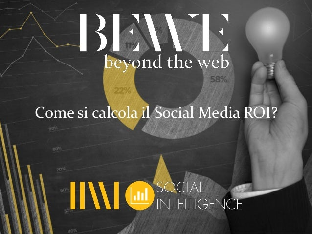 Come si calcola il Social Media ROI?