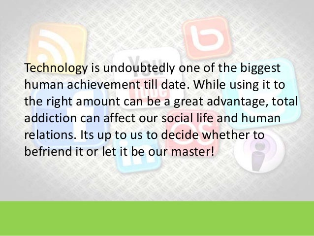How technology affects us essays