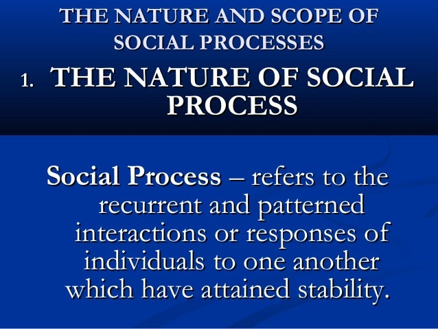 classification of social processes Than a static classification, and in fact the diversity of social structures has led some social anthropologists to rethink the classification in dynamic terms (and others to reject the classification entirely see johnson & earle 2000:3.