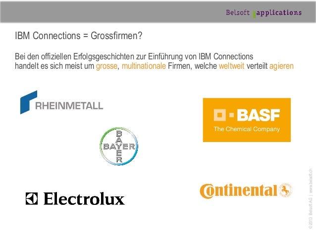 Social Intranet für KMU - IBM Connect Switzerland Slide 3