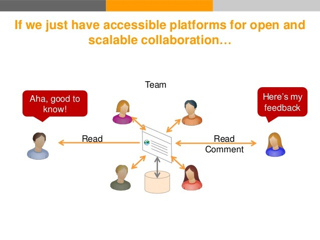 …we can avoid document sharing chaos and email lockin… ?? Stakeholder Team Stakeholder