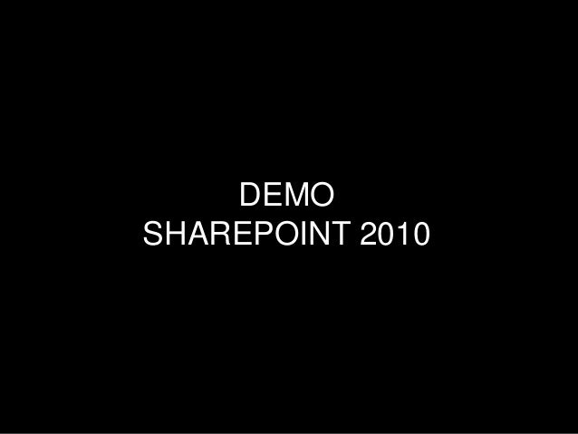 Scenario walkthrough: Enriching corporate content and making information flow with user-generated in SharePoint 2010
