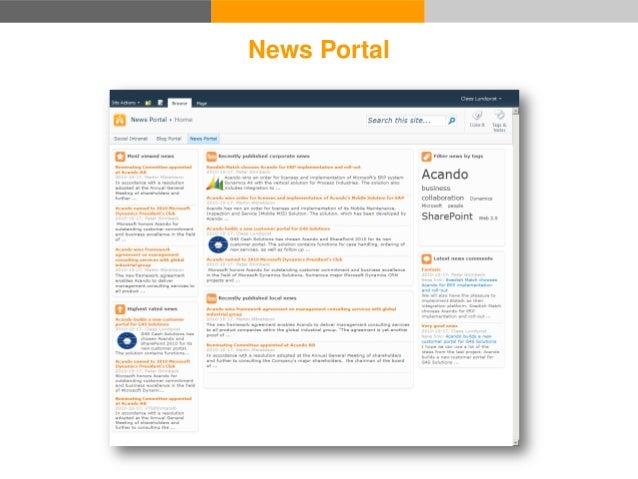 News Portal Blog Portal News Story Blog 1. Read news story 1