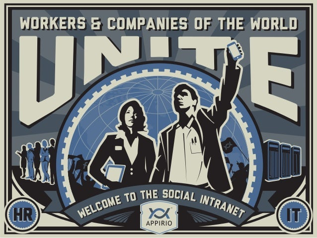 ITWELCOME TO THE SOCIAL INTRANETHR WELCOME TO THE SOCIAL INTRANET WORKERS companies OF THE WORLDWORKERS companies OF THE W...
