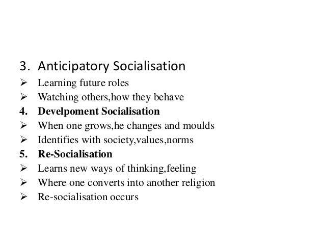 Socialisation (Sociology) Slide 3