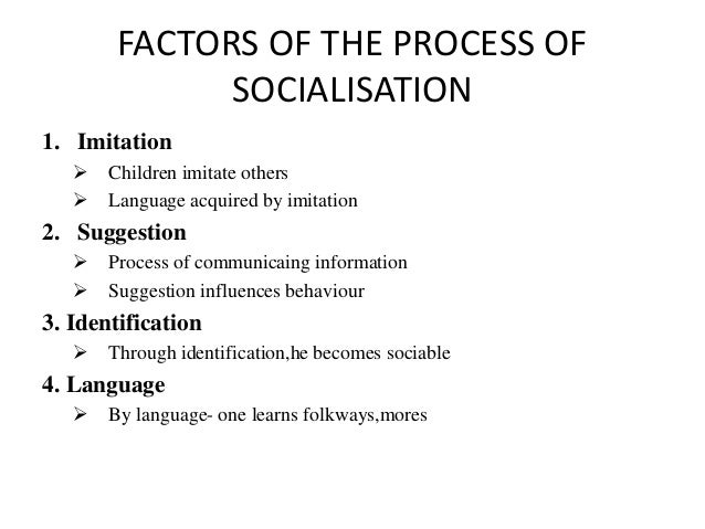 socialisation sociology Socialization is the process of learning how to become part of a culture through socialization one learns the culture's language, their role in life, and what is expected from them socialization is a very important process in the forming of personality socialization occurs when one.