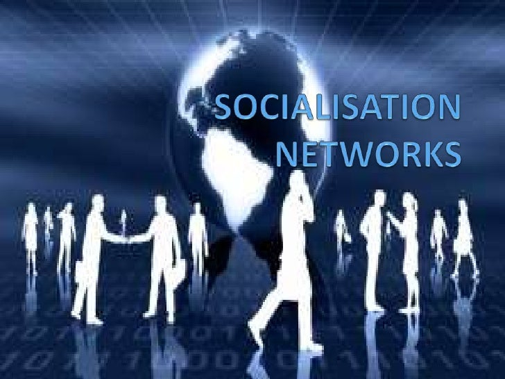 INTRODUCTION Socialization Network is establishing the  link, knowing how to find and talk to the person if the  need ari...