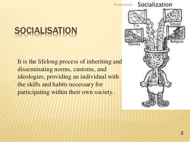 what is the process of socialisation