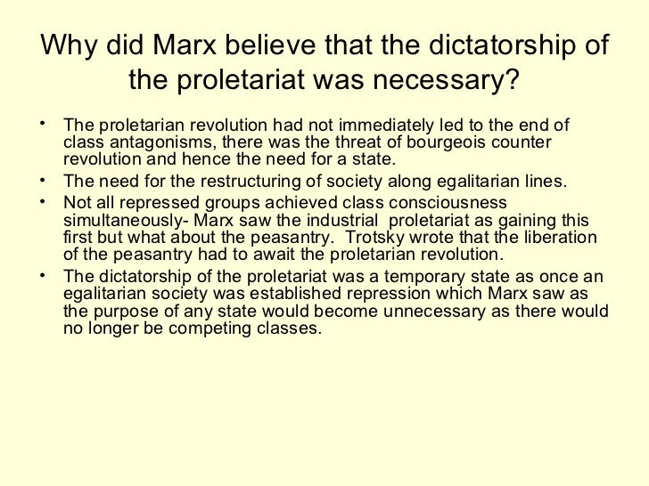Proletariat Meaning