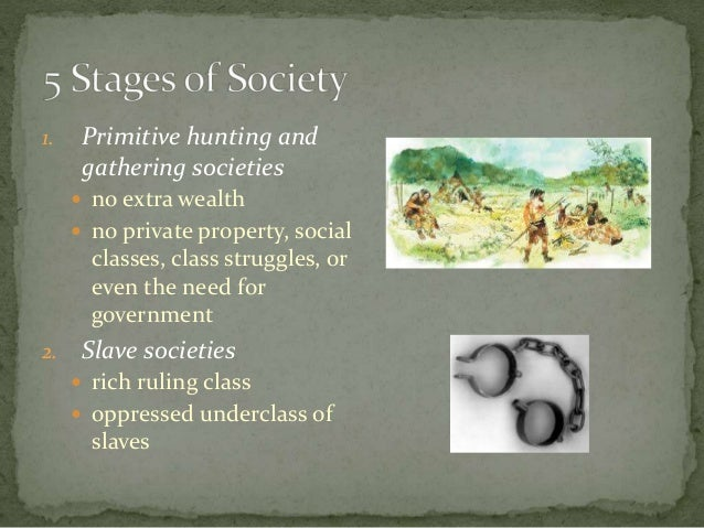 economic stages of society the proletariat slave serf and the handicraft Some of the major application of laws of marx's dialectical materialism are as follows: 1 primitive communal form of society 2 slave-owning society 3 feudal society 4 capitalist society the principles or laws of dialectical materialism hold good for nature, world and society alike when these.
