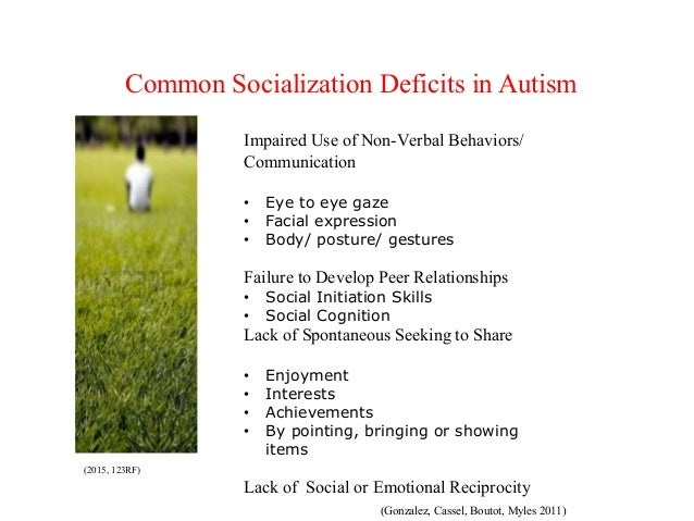 Autism dating and socialization