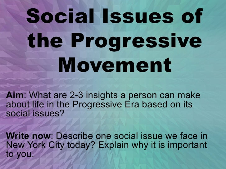 progressive movement 2 essay The progressive era the turn of the century was marked by a movement known as the progressive era, during which many groups sought to reshape the nation's government.