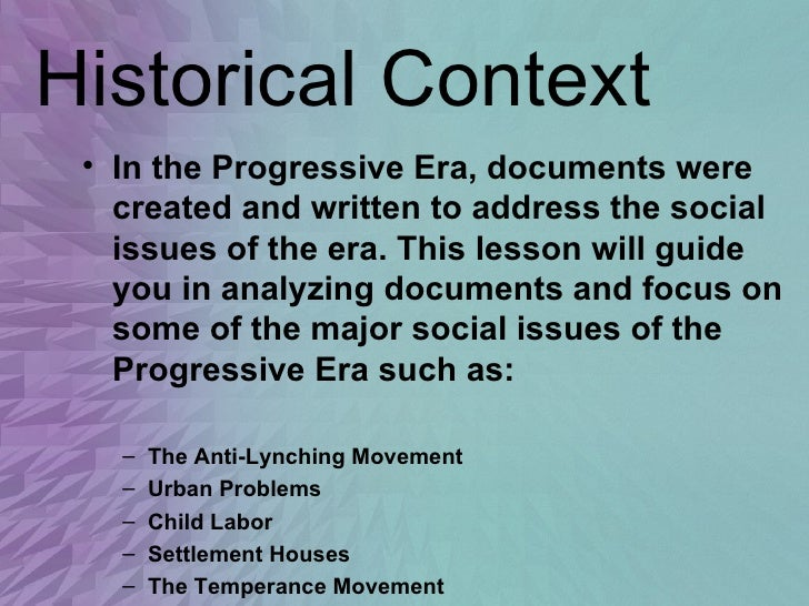 progressive movement 4 essay The progressive era was a period of change experienced in america, between the years 1890 and 1920 the industrial revolution that had preceded this period brought with it some negative impacts on the american population, such that leaders found it necessary to change the bad conditions that the americans were experiencing.