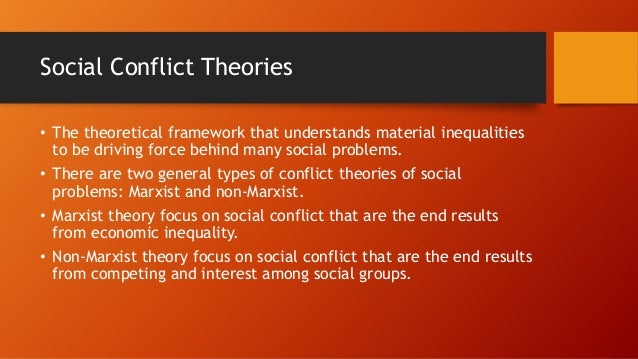 social conflict theory on homelessness The sociology of homelessness during the last two decades, the reemergence of homelessness as a social problem drew the attention of many social researchers social scientists described the experience of being homeless and the extent of homelessness they investigated the causes and consequences of homelessness, and they recommended.