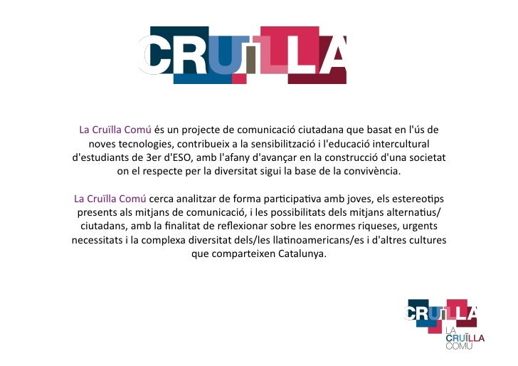 La Cruïlla Comú 2012 Slide 2