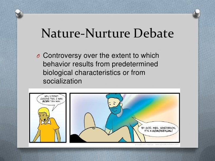 nature nurture debate sociology essay Nature vs nurture: which causes crime a combination of both biological and social factors combined mold people into who they are and determines the mindset of one that chooses to engage in.
