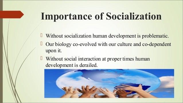 socialization and human development