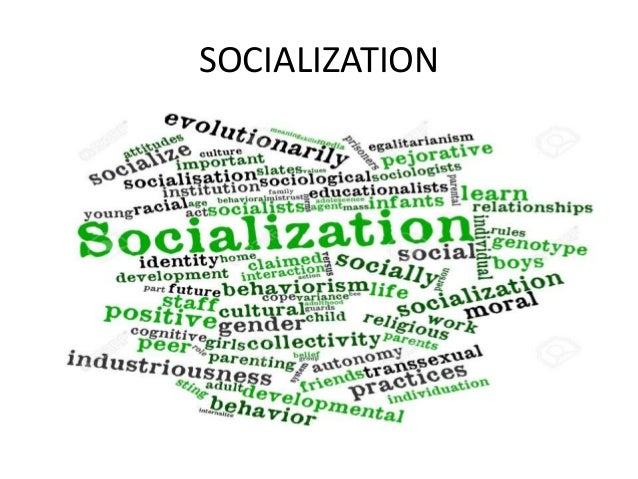 What is the importance of the process of socialization in our life?