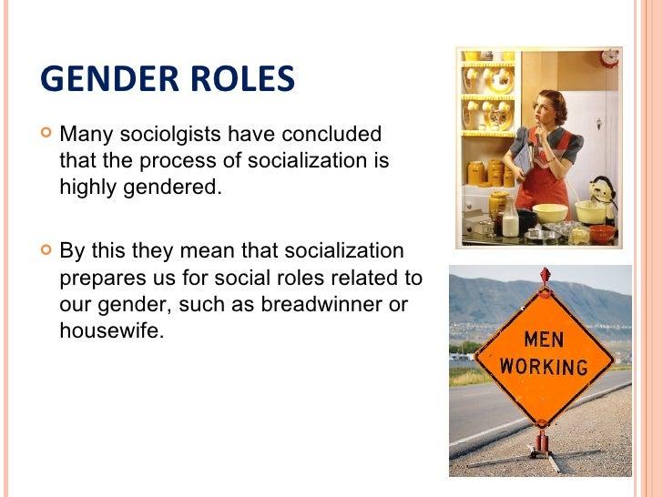 Sex role socialization theory
