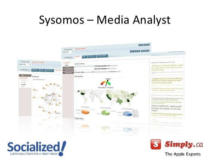 Sysomos – Media Analyst<br />