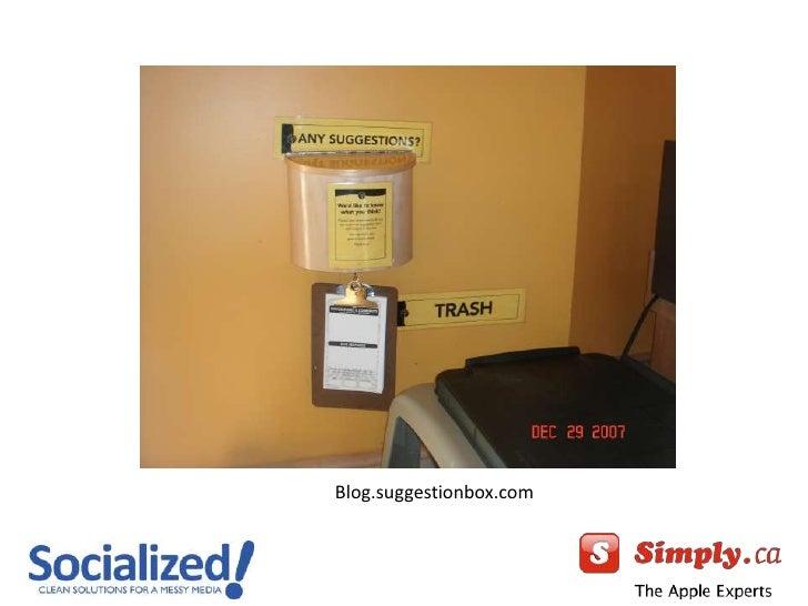 Blog.suggestionbox.com<br />