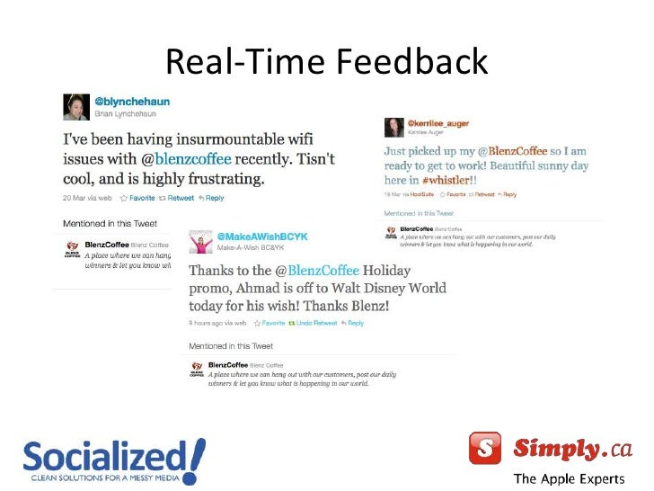 Real-Time Feedback<br />