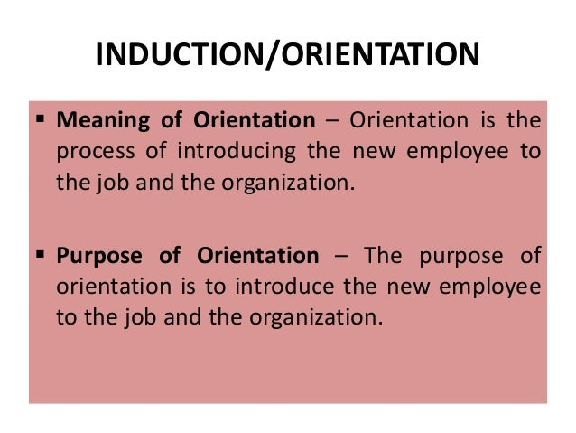 purposes of induction and how they benefit individuals and organisations Some of the benefits of training employees for an organization are as follows: (i) economy in operations:  the morale of employees is increase if they are given .