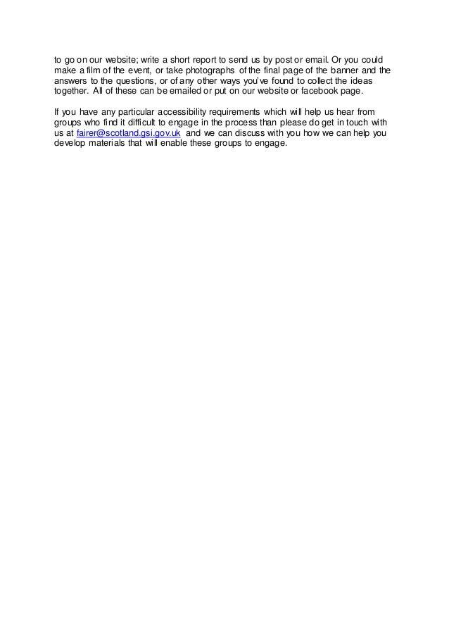 Social justice facilitation pack - introductory letter Slide 2