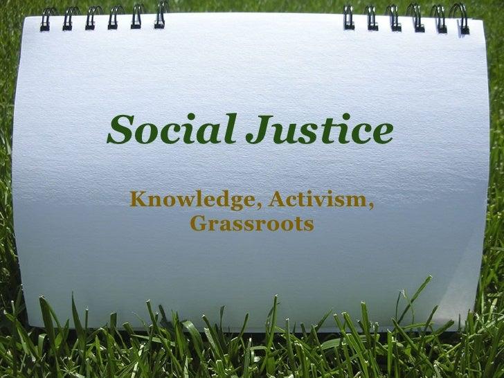 Social  Justice  Presentation 1