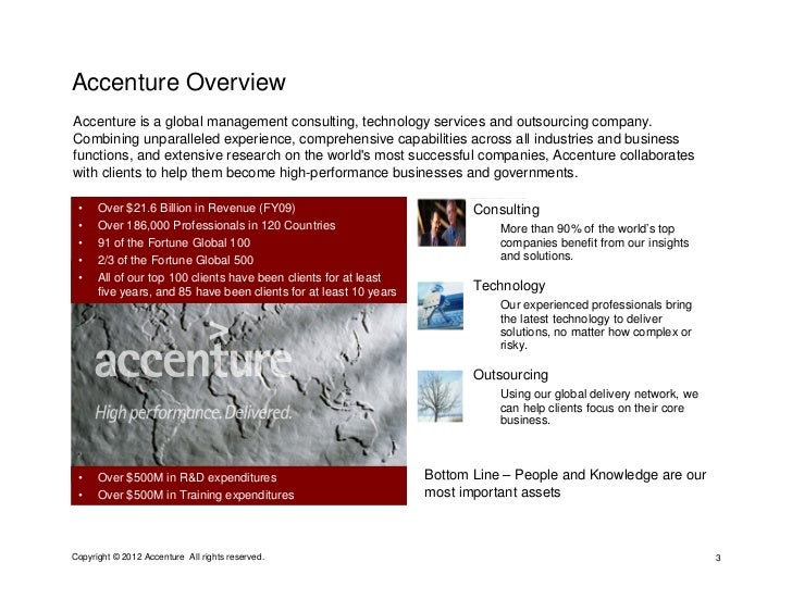 accenture technology consulting case studies Accenture case study interview