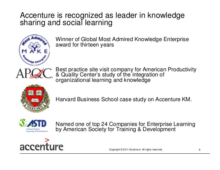 Social Learning Case Study Accenture