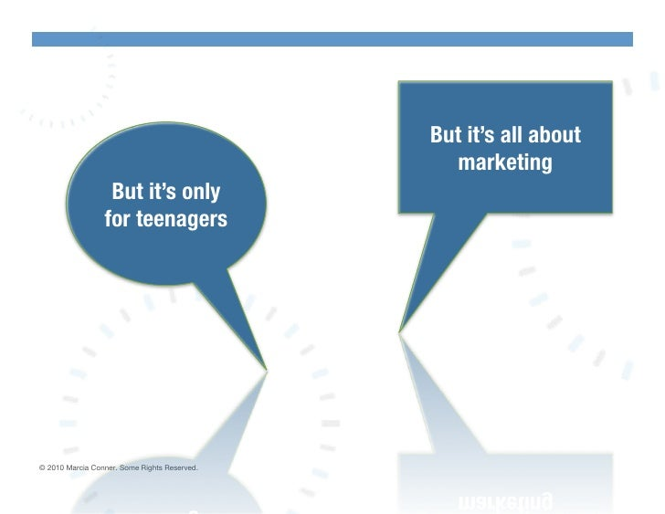 But it's all about                                                  marketing!                   But it's only            ...