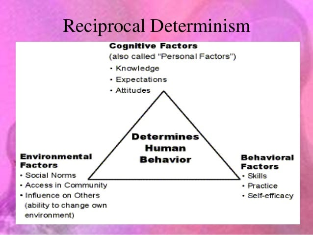 Reciprocal determination