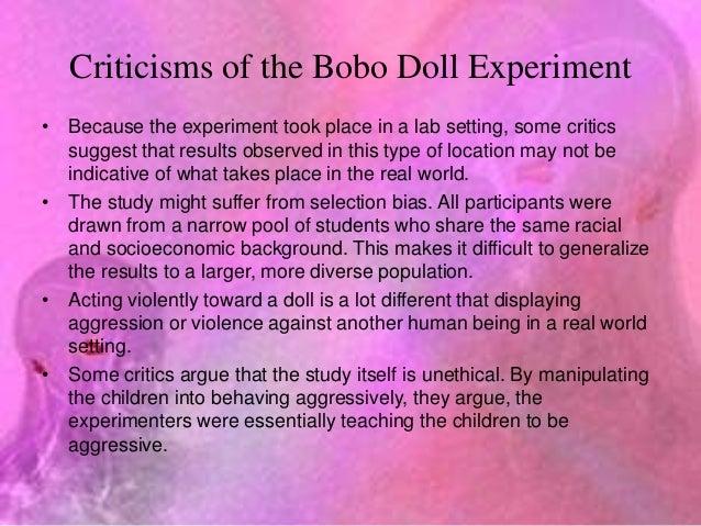 Bobo doll experiment